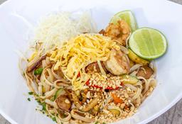 Phad Thai  de Camarones