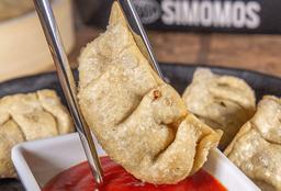 Dumpling de Pollo con Mozzarella