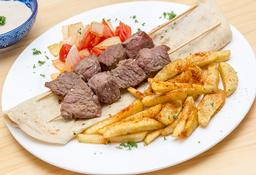 Kebab Pollo Salsa de Ajo