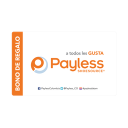 Bonos Payless  $70.000