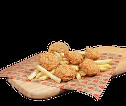 Nuggets x 18 + papas medianas