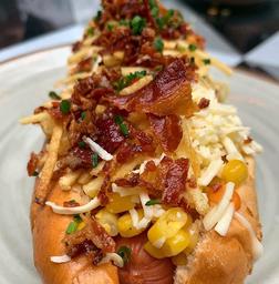 Nuevo Hot Dog Desgranado