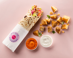 🌯 Shawarma Mixto + Patatas + Gaseosa 🍟🥤