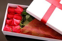 Caja de rosas x 12