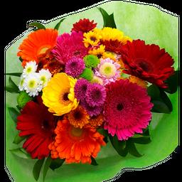 Bouquet Tropical Con Gerberas