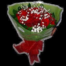 Bouquet Tradicional x 12 Rosas