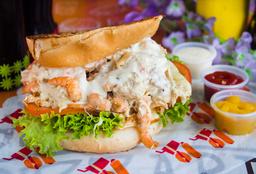 Sandwich Pollo Camaron