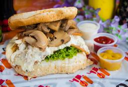 Sandwich Pollo Champiñon