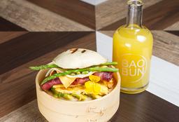 Combo Egg Bacon Burgerbun
