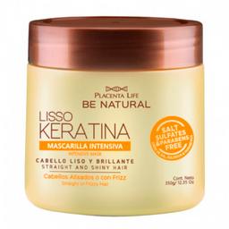 Mascarilla Be Natural Liso Keratina 350Gr