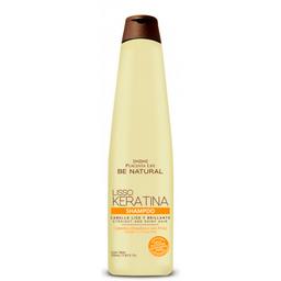 Shampoo Be Natural Liso Keratina 350Ml