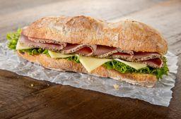 Sandwich de Jamón de Pavo Wow