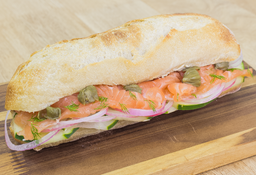 Sandwich de Salmón Wow
