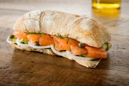 Sándwich de Salmón Wow