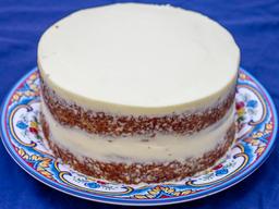 Torta de Zanahora Entera