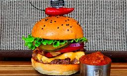 Nueva Red Hot Chili Burger en Combo