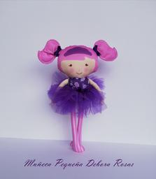 Muñeca Pequeña Debora Rosas