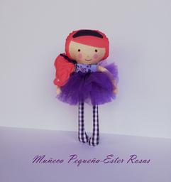 Muñeca Pequeña Ester Rosas