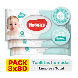 Huggies Toallitas Húmedas One&done