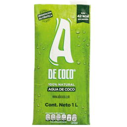 Agua De Coco Organica 1 Lt