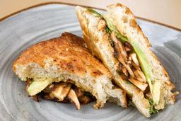 Sandwich Shitake BBQ