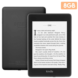 Nuevo Kindle Paperwhite con luz integrada a prueba de agua 8GB