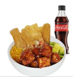 Bowl BBQ + Coca Cola-Original