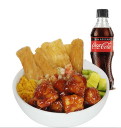 Bowl BBQ + Coca Cola Original