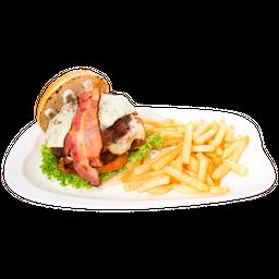 Hamburguesa Artesanal Doble Carne