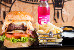 Combo American Burger
