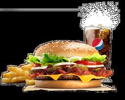 Combo Hamburguesa Whopper Tejana