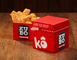 Kubo Mixto + Coca Cola 400 ml