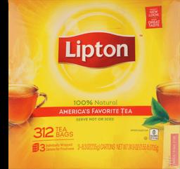 Tea Bags 312ct Lipton