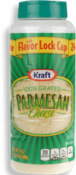 Kraft Grtd Parm Cheese 24oz