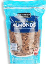 MS Roasted&Salted Almonds 32oz