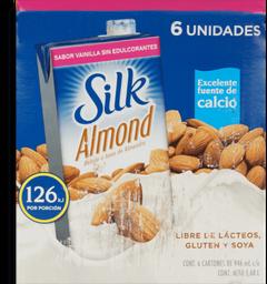Silk Almnd Unswt Vanill 6/32oz
