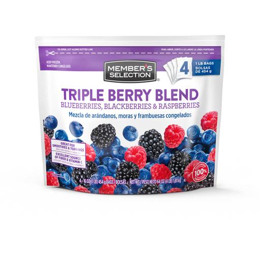 MS Triple Berry Blend 4pk/1lb
