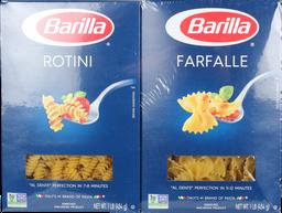 Pasta Combo Pk 4/1lb Barilla
