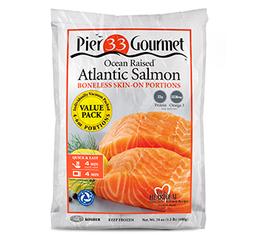 Atlantic Salmon Portions 4/6oz