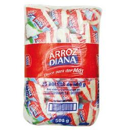 Diana Arroz Blanco 25pk/500grs