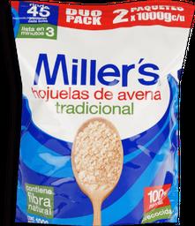 Millers Avena Hojuelas 2pk/1kg