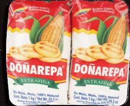 DonaArepa Har.Maiz Bl. 4pk/1kg