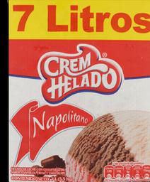 Helado Napolitano 7 lt/ 3.5 kg