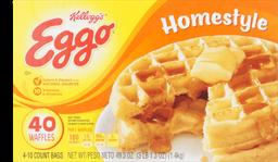 Waffles Eggo 40 Ct