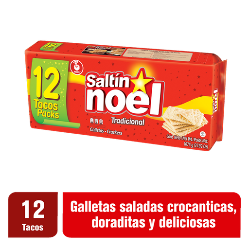 Saltin Noel Galleta 12pk/89.58