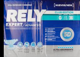 Rely Expert pañal Grande 36 un