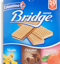Bridge Wafer Surtida 50pk/30g