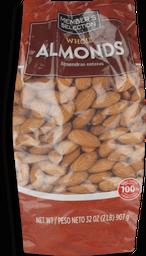 MS Whole Almonds 2 lb