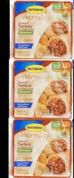 Raw Ground Turkey 3x1LB 48oz