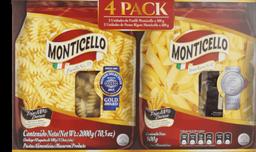 Monticello Pastas 4pk/500g